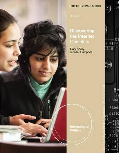 9781111577674: Discovering the Internet: Complete, International Edition