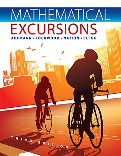 9781111578497: Mathematical Excursions
