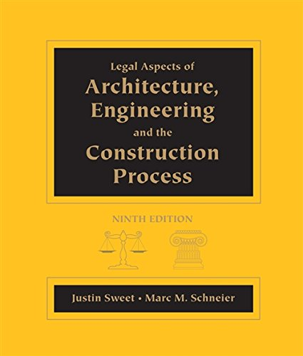 Legal Aspects of Architecture (NEW!!): Justin Sweet, Marc