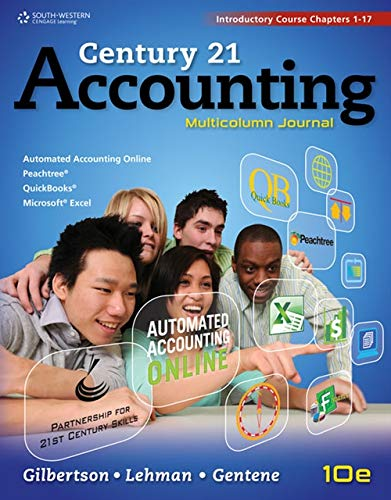 9781111579357: Century 21 Accounting: Multicolumn Journal, Introductory Course, Chapters 1-17
