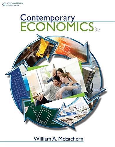 9781111580186: Contemporary Economics