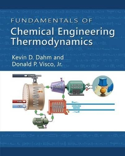 9781111580704: Fundamentals of Chemical Engineering Thermodynamics