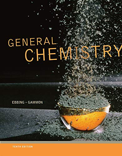 9781111580872: General Chemistry, 10th Edition