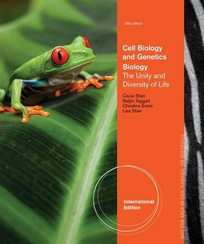 9781111580995: Cell Biology and Genetics Volume 1.