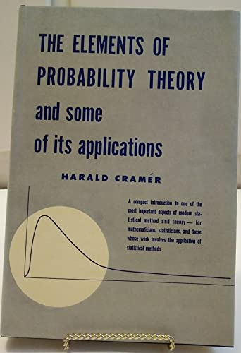 9781111595265: The Elements of Probability Theory and Some of Its Applications
