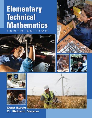 9781111616175: Bundle: Elementary Technical Mathematics, 10th + Enhanced WebAssign Single-Term LOE Printed Access Card for Developmental Math