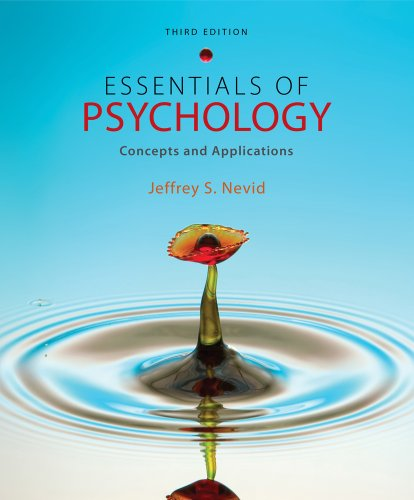 Bundle: Essentials of Psychology: Concepts and Applications, 3rd + WebTutorTM on Blackboard with ...