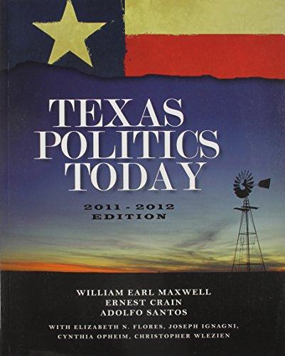 9781111627317: Bundle: Texas Politics Today, 2011-2012 Edition, 15th + WebTutor™ ToolBox for Blackboard Printed Access Card
