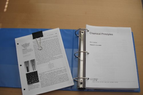 Chemical principles (hardback) by steven zumdahl: cengage learning.