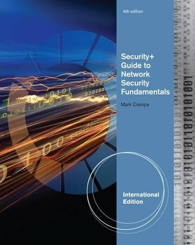 9781111640170: Security+ Guide to Network Security Fundamentals, International Edition