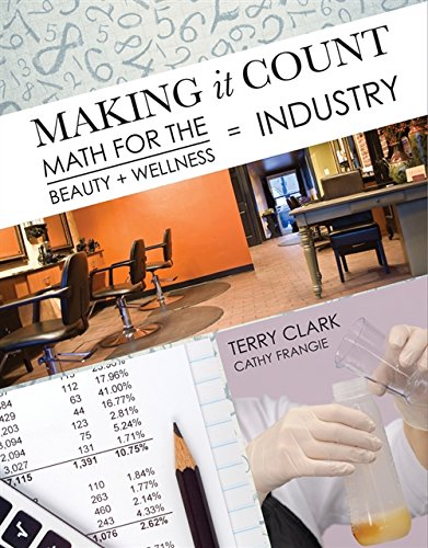 9781111641443: Making It Count: Math for the Beauty and Wellness Industry