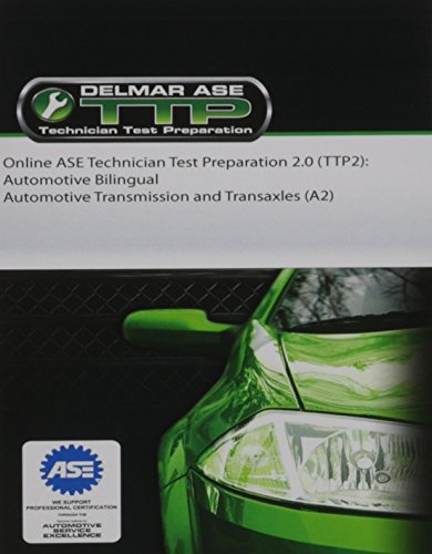 Online ASE Technician Test Preparation 2.0 TTP2 Automotive Bilingual Automotive Transmission & ...