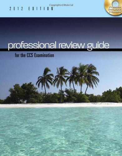 9781111643836: Professional Review Guide for the CCS Examination, 2012 Edition (with CD-ROM) (Exam Review Guides)