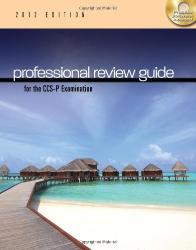 9781111643843: Professional Review Guide for the CCS-P Examination, 2012 Edition (Exam Review Guides)