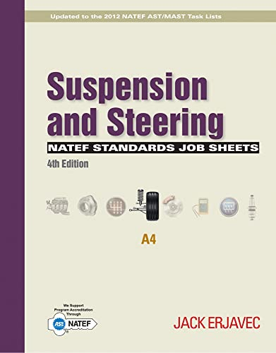 9781111647001: NATEF Standards Job Sheets Area A4