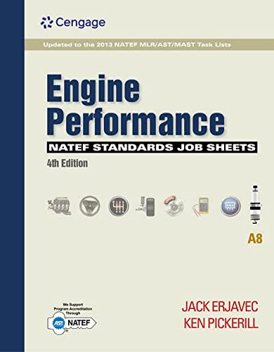 9781111647018: NATEF Standards Job Sheets Area A5