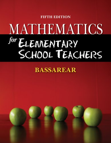 9781111649623: Bundle: Mathematics for Elementary School Teachers, 5th + Enhanced WebAssign - Start Smart Guide for Students + Enhanced WebAssign Homework with eBook Printed Access Card for One Term Math and Science