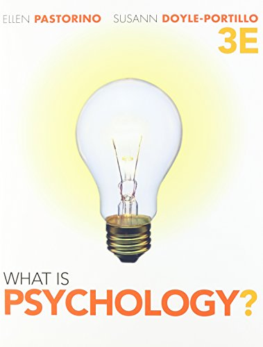 Bundle: What is Psychology?, 3rd + Psychology CourseMate with eBook Printed Access Card: Pastorino,...