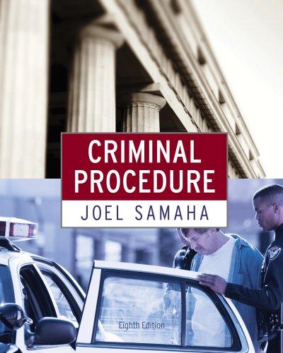 Bundle: Criminal Procedure, 8th + Careers in Criminal Justice Printed Access Card: Samaha, Joel
