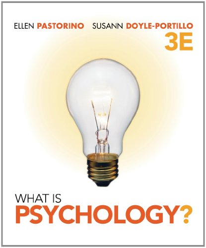 9781111652845: Bundle: What is Psychology?, 3rd + Study Guide