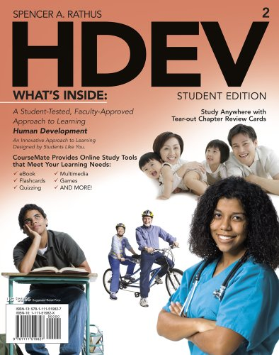Bundle: HDEV (with Psychology CourseMate with eBook Printed Access Card), 2nd + WebTutor(TM) on ...