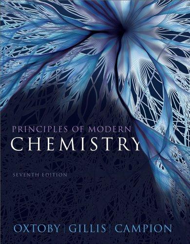 Principles of Modern Chemistry, 7th + OWL