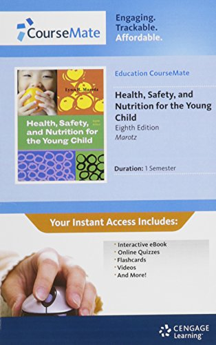 9781111676155: Early Childhood Education CourseMate with eBook Printed Access Card for Marotz's Health, Safety, and Nutrition for the Young Child, 8th