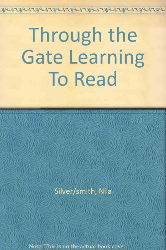9781111676339: Through the Gate Learning To Read
