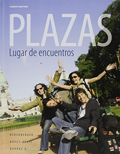 9781111698669: Bundle: Plazas, 4th + Student Activity Manual + Premium Web Site Printed Access Card
