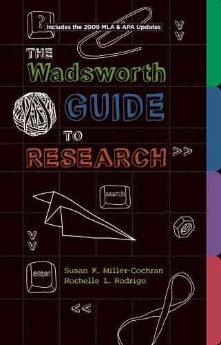 9781111700119: Bundle: Wadsworth Guide to Research, Documentation Update Edition + Resource Center Printed Access Card