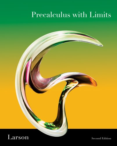9781111701253: Bundle: Precalculus with Limits, 2nd + Student Study and Solutions Manual