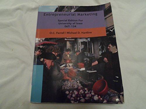 9781111723743: Entrepreneurial Marketing (Special University of Iowa Edition 06T:134)