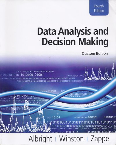 9781111723958: Data Analysis and Decision Making, Custom Edition