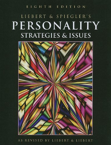 9781111726119: Personality: Strategies and Issues, Reprint