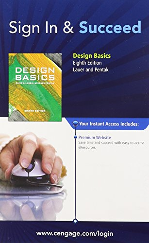 Sign In and Succeed: Design Basics: Cengage Learning