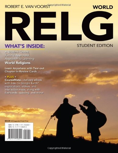 RELG: World (with Religion CourseMate with eBook Printed Access Card): Van Voorst, Robert E.