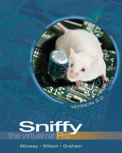 Sniffy the Virtual Rat Pro, Version 3.0 (with CD-ROM): Tom Alloway; Greg Wilson; Jeff Graham