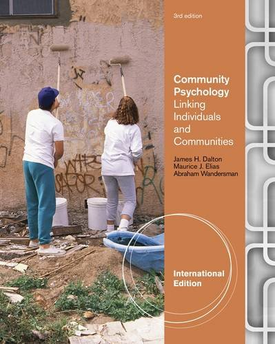 9781111726409: Community Psychology: Linking Individuals and Communities