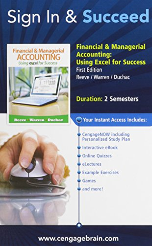 James Reeve Accounting Using Excel Success AbeBooks