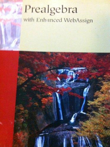 Prealgebra with Enhanced WebAssign: Richard N. Aufmann/Joanne
