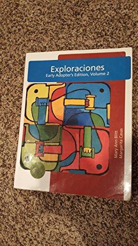9781111750923: Exploraciones (Volume 2)