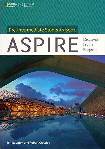 9781111770686: Aspire, Pre-Intermediate: Discover, Learn, Engage (Aspire: Discover, Learn, Engage)