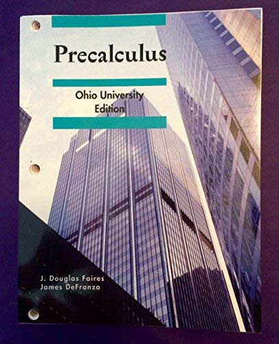 9781111776206: Precalculus, Ohio University