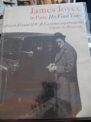 James Joyce in Paris: His final years (1111804478) by Gisele Freund