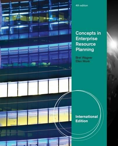 9781111820411: Concepts in Enterprise Resource Planning, International Edition