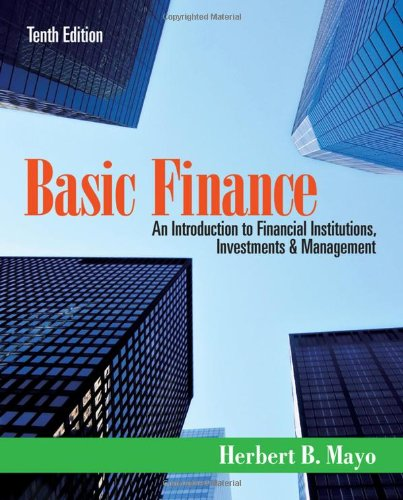 9781111820633: Basic Finance: An Introduction to Financial Institutions, Investments and Management