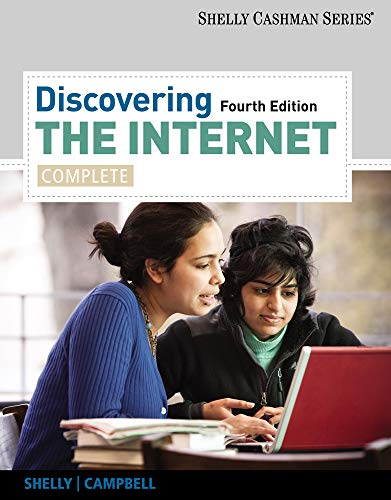 Discovering the Internet: Complete (Shelly Cashman Series): Shelly, Gary B.;
