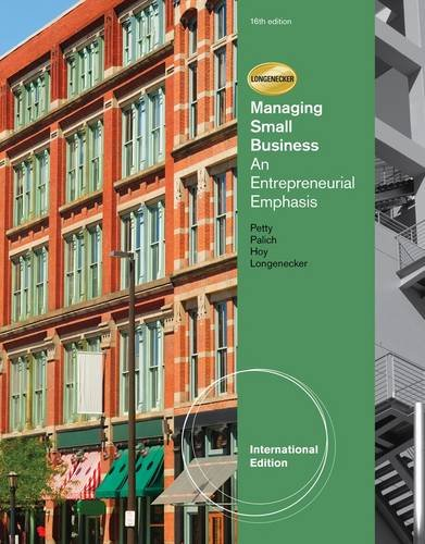 Managing Small Business: Petty, William J;