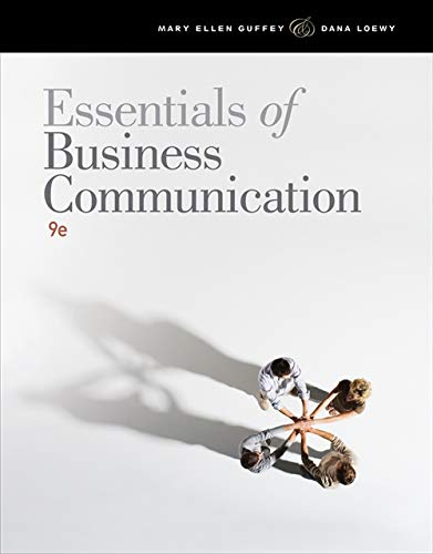 9781111821227: Essentials of Business Communication