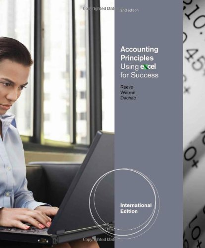9781111821357: Accounting Using Excel for Success